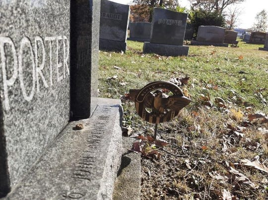 """There's already a spot in Oakdale Cemetery in Marysville for Capt. John """"Blackie"""" Porter, who died when his plane was shot down on Dec. 10, 1943, while on a mission in the region of India, China, Burma (now Myanmar). The four-sided headstone at the Porter family plot holds his brother, who also was killed in the war, and his parents. But Blackie's spot remains empty, as his remains have never been recovered. The Marysville community raised $44,000 to put with relatives' $28,000 to fund a private expedition in which an archaeology team hoped to recover the remains of Porter and his crew, which includes another Marysville son, Sgt. Harold Neibler. Questions now surround that mission."""
