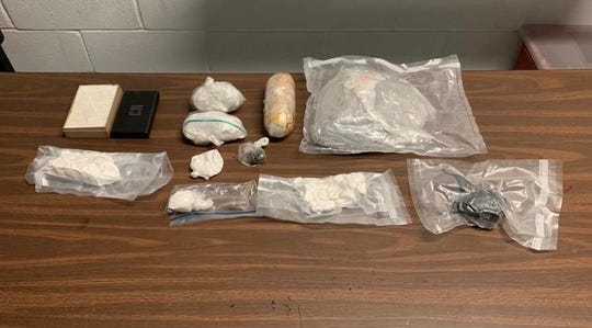 2.4 kilograms of heroin and fentanyl were confiscated March 2 in Paterson by the Passaic County Sheriff's Office.