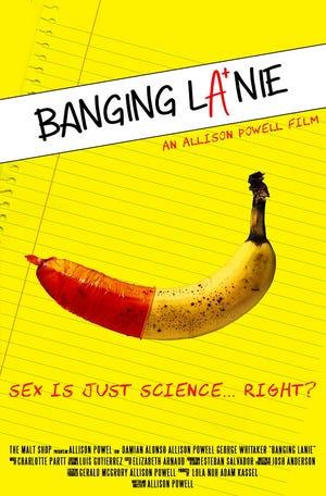 """""""Banging Lanie"""" film poster."""