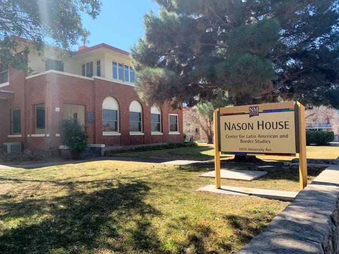 Nason House, on New Mexico State University's Las Cruces campus, houses the Center for Latin American and Border Studies. Seen on Thursday, Feb. 27, 2020.
