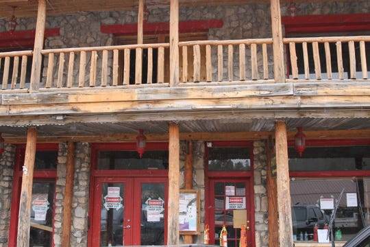 The historic Cloudcroft Hotel is being renovated ahead of its reopening.