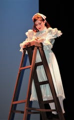 """Lillie Geiersbach takes the stage in a production of """"Our Town"""" opening this weekend at San Juan College."""