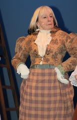 """Caroline Creyke performs in the San Juan College Theatre production of the Thornton Wilder classic """"Our Town."""""""