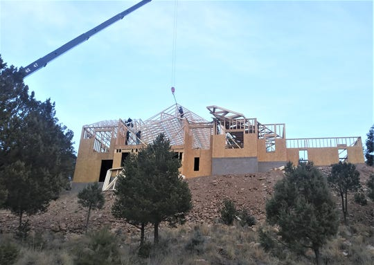 New home construction is producing some impressively large homes in and around Ruidoso.