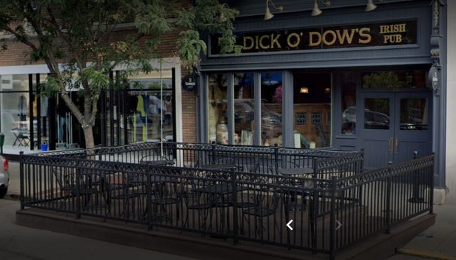 Dick O'Dow's in downtown Birmingham has a potential solution for outdoor seating while Maple Road is under construction later this year.