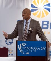 Sun Belt Conference commissioner Keith Gill addressed the coronavirus crisis in a conference call Thursday.