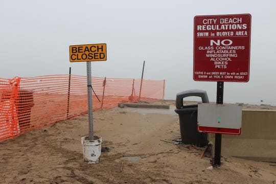 Local officials expect a portion of Port Clinton's city beach to remain closed through much of this upcoming summer season as they continue to seek funds to needed to repair damage and erosion caused by high water levels.