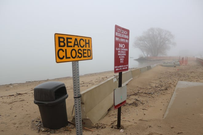 Local officials expect a portion of Port Clinton's city beach to remain closed through much of the summer as they continue to seek funds to repair damage and erosion caused by high water levels.