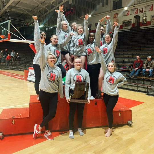 Richmond gymnastics won its third consecutive sectional title on Saturday at Connersville.