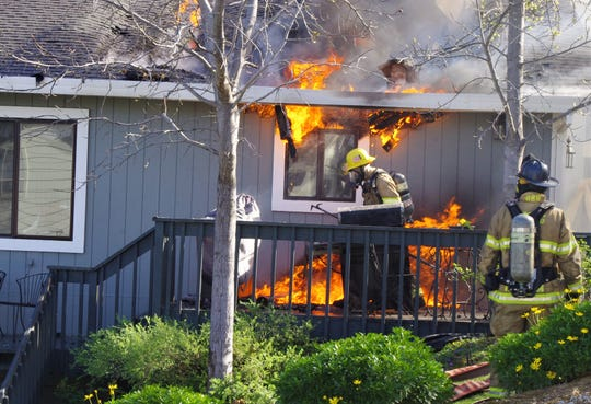 The owners of a home on Highland Court in Shasta that caught fire Monday said they had lived in the house for more than 16 years.