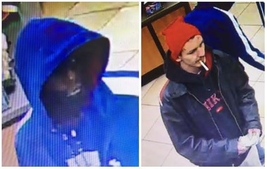 The Bossier Parish Sheriff's Office is asking for help in identifying two men who reportedly stole whiskey from Circle-K at 5302 Airline Drive in Bossier City on Feb. 6, 2020.
