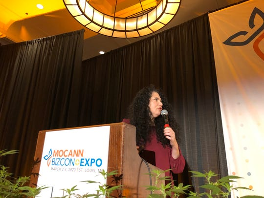 Sue Sisley, an Arizona-based doctor, spoke about cannabis science at MoCanBizCon+Expo in St. Louis on Tuesday, March 3, 2020.