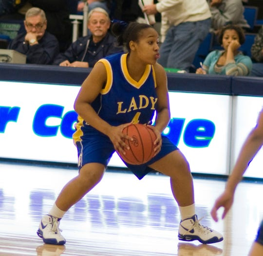 Brittany Christie was a guard at Tallahassee Community College from 2007-09. She now works at the college.