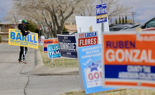 Election Day is is in full swing for El Paso