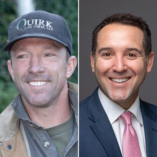 Trevor Quirk, left, and Matt LaVere