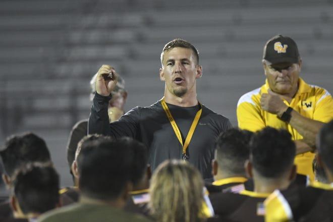 Adam DeCosta is the new head football coach at Golden West High School.