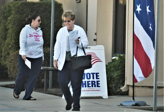 Tulare County residents hit the polls on Tuesday, March 3, 2020 to cast their vote in the Presidential Primary.