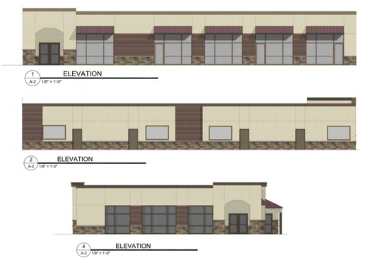 A rendering shows what a new building for office or retail space could look like on Thomas Street in Wausau. The building was proposed by Aedifix Holdings and could take five years to complete, along with town homes the developer proposed along Thomas Street. The same company proposed new town homes on Wausau's north side near Riverlife.