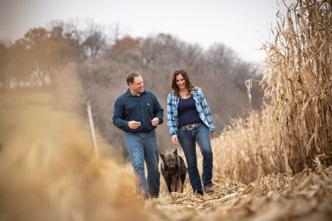 The camraderie between Doug and Tammy is evident whenever they spend time together on their seventh-generation family farm.