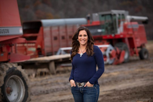 Tammy Wiedenbeck's older brother, Doug, first inspired this Lancaster, Wis., woman's passion for agriculture on the family's swine, beef and crop operation in Lancaster, Wisconsin.