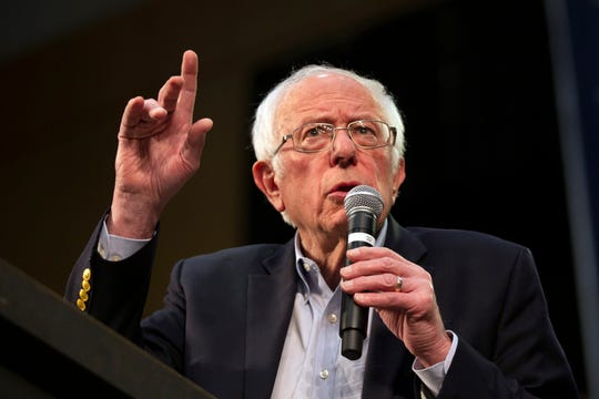 The coronavirus pandemic kept Bernie Sanders from holding campaign rallies.
