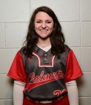 Palmetto softball senior Kirsten Meeks.