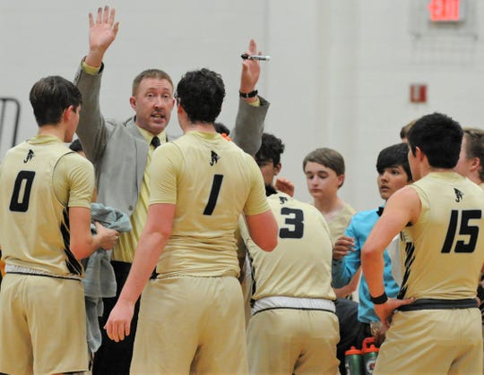 Jayton coach Ryan Bleiker led the team to a second consecutive state tournament this season.
