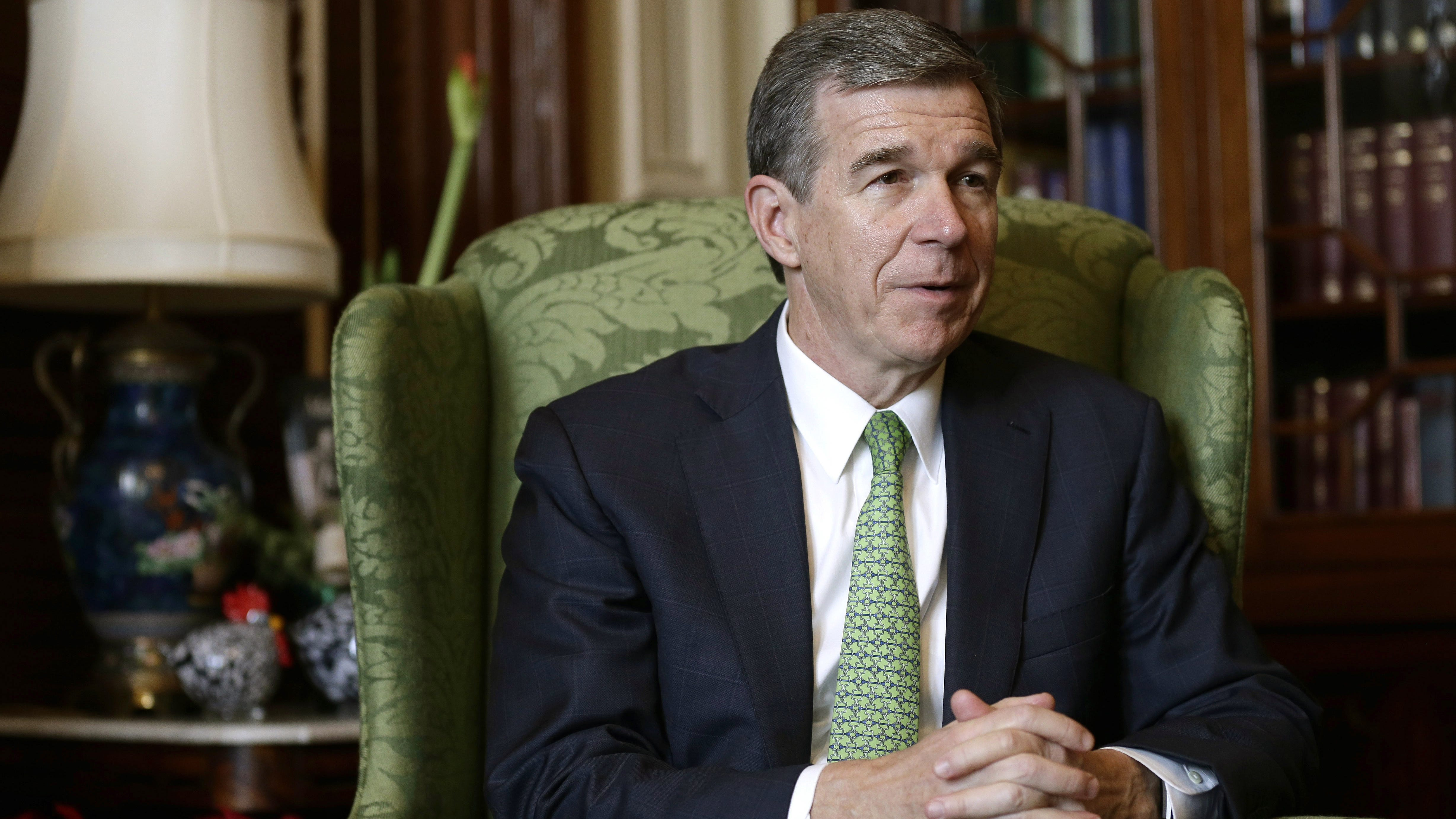 N.C. governor says he'll seek jobless aid