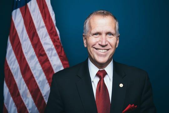Thom Tillis, a Republican, will run against Cal Cunningham in the 2020 race for North Carolina US Senate.