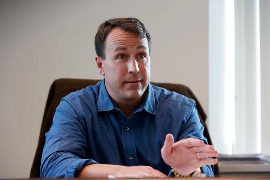 Cal Cunningham, a Democrat, will run against Thom Tillis in the 2020 race for North Carolina US Senate.