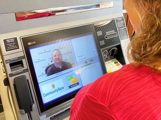 First Community Bankis the first community bank to provide interactive teller machines in the Coastal Bend. The new machines feature upgraded technology over ATMs, including the ability to interact live with a bank teller during bank hours.