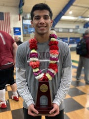 Kutztown's Collin Wickramaratna has qualified for the Division II national meet.