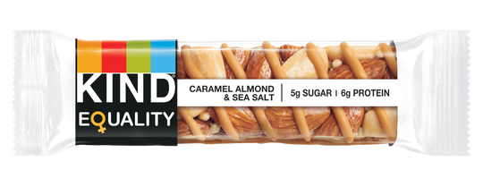 Sales from the new EQUALITY bar by KIND Health Snacks will help generate support for states' passage of the Equal Rights Amendment via efforts of the Alice Paul Institute in Mount Laurel.