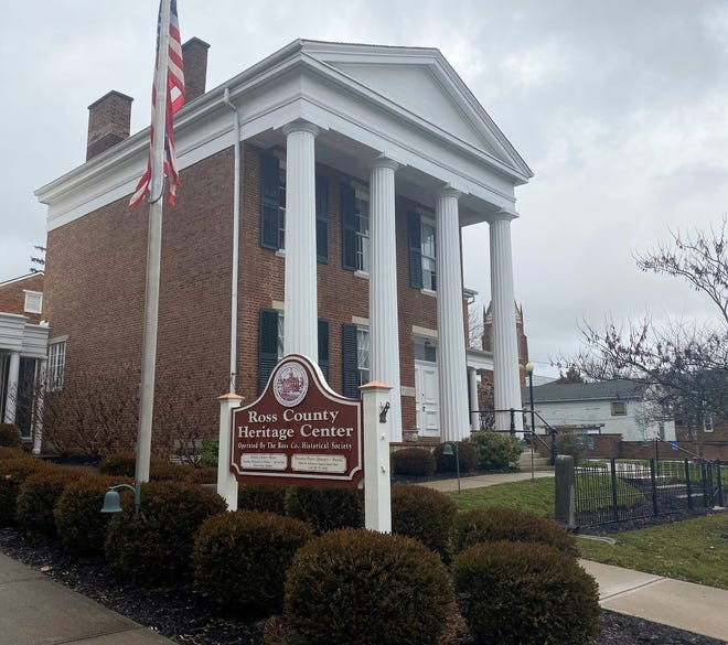 The Ross County Heritage Center located at 45 West Fifth Street in Chillicothe.
