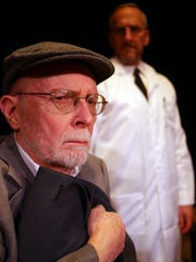 """Clint Bramkamp plays the Old Jew in the Alibi Players' production of Arthur Miller's """"Incident at Vichy."""""""