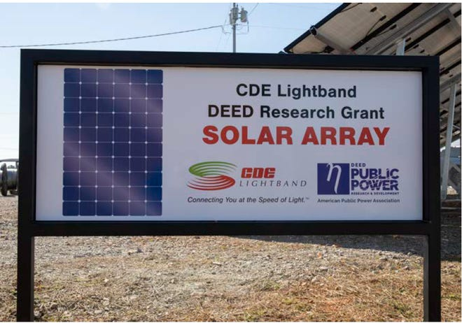 CDE Lightband was awarded a research grant by the American Public Power Association's DEED program.