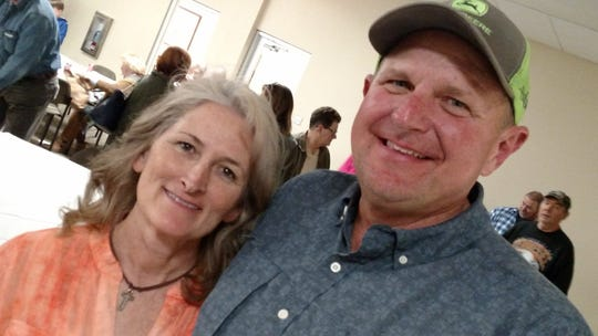 "Gwen and Kevin Griffy were still smiling after the news that he had lost the Republican nomination for highway supervisor. ""I guess God's got other plans for me,"" he said."