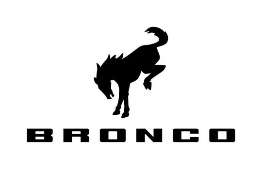 The logo for the upcoming Ford Bronco.