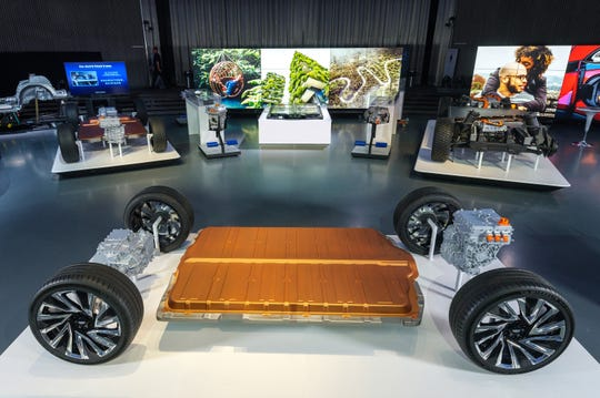 General Motors revealed its all-new modular platform and battery system known as Ultium.
