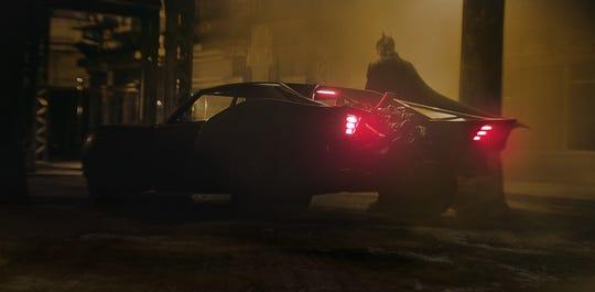 "Batmobile from ""The Batman."""