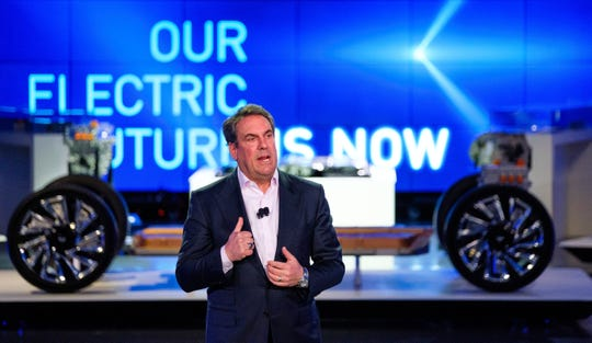 GM President Mark Reuss said the new EVs give the company a chance to reinvent the company and its brands.