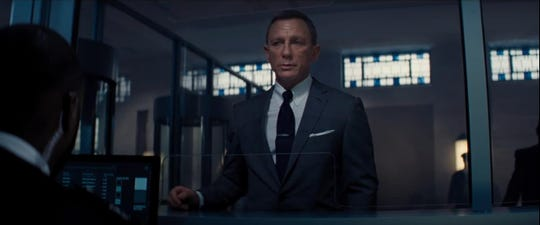 "Daniel Craig in ""No Time to Die."""