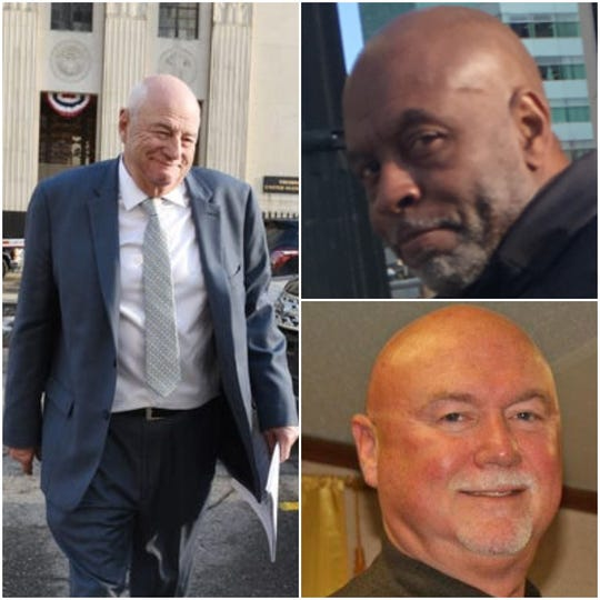 """Three aides of former UAW President Gary Jones are cooperating with investigators. They are (clockwise from left): Edward """"Nick"""" Robinson, Vance Pearson and Danny Trull."""