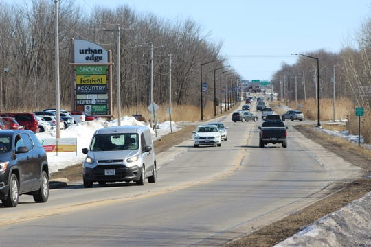 Gov. Tony Evers on Wednesday announced state funding for a project to convert Lineville Road/County M from two to five lanes in 2024 and 2025.