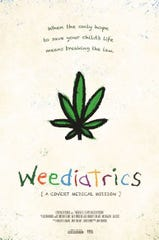 """Promotional poster for """"Weediatrics."""""""