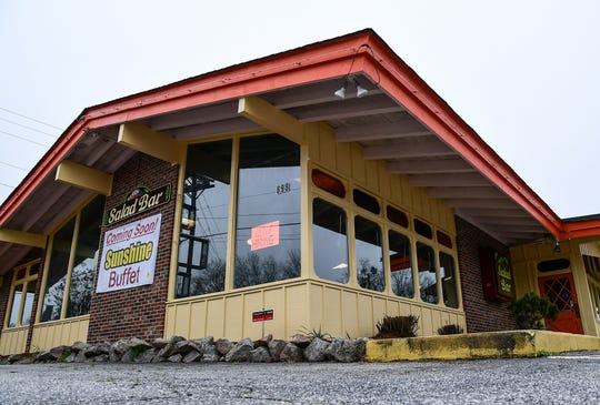 Sunshine Buffet, which was Western Sizzlin' in Clemson for years, nearly ready to open.