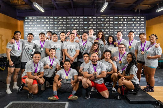 The Powerlifting in Paradise Mock Meet was held Feb. 29 at Paradise Fitness in Dededo.