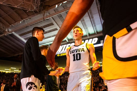 Sophomore Joe Wieskamp is Iowa's second-leading scorer at 14 points per game. But he has made just 4 of his last 24 3-point attempts while seeing increasingly aggressive defenses. He knows he needs to find a way to fight through that as the Big Ten Conference Tournament gets underway this week.