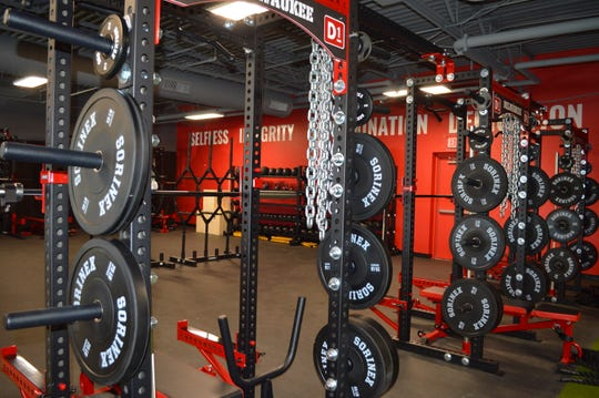 D1 Training Milwaukeehas a more than 1,000-square-foot weight room.