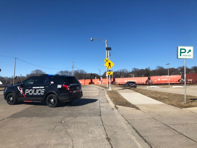 Wauwatosa police were called to North 70th and West State streets for a report of a pedestrian struck by a train Wednesday afternoon.
